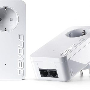 DEVOLO POWERLINE dLAN 550 DUO+ STARTER KIT (9303), 2x dLAN 550 DUO+ ADAPTER, dLAN 550Mbps