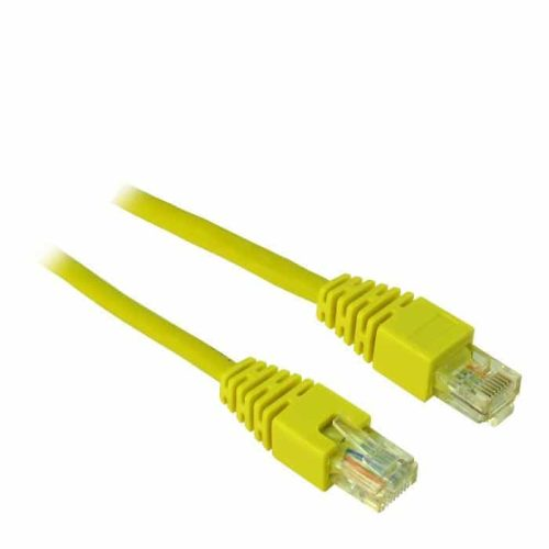 Cable UTP patch CAT5 0.5m Inter-Tech Υellow
