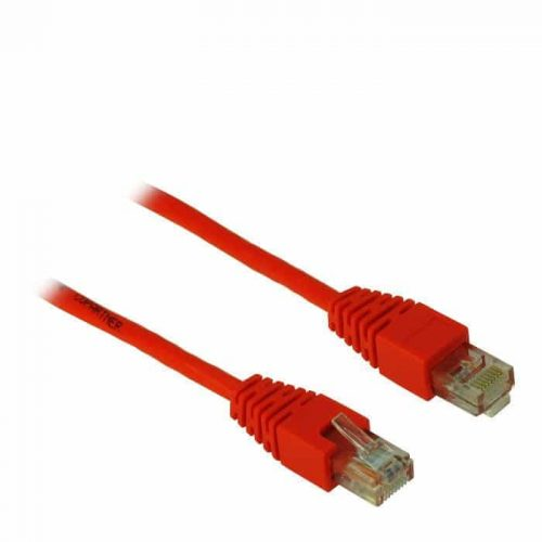 Cable UTP patch CAT5 2m Inter-Tech Red