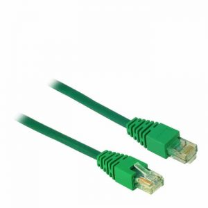 Cable UTP patch CAT5 2m Inter-Tech Green