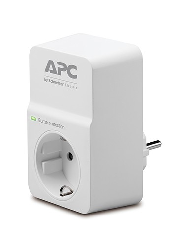 APC Essential SurgeArrest PM1W-GR 1Οutlet 158 60 APCPM1W 1