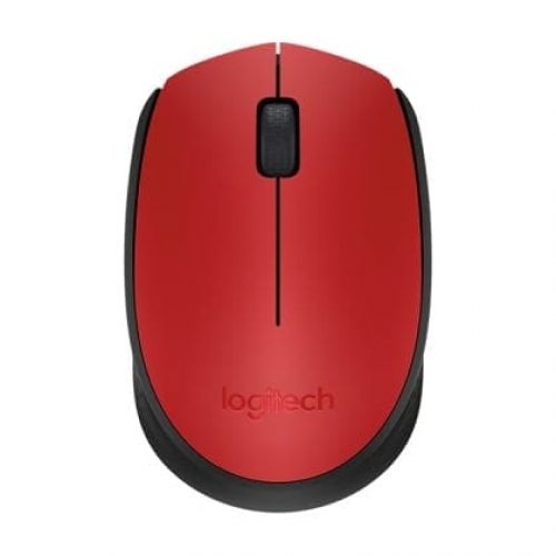 LOGITECH Mouse Wireless M171 Red