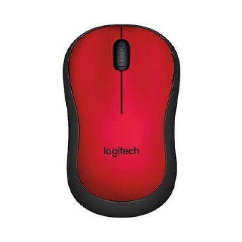 LOGITECH Mouse Wireless M220 Red Silent