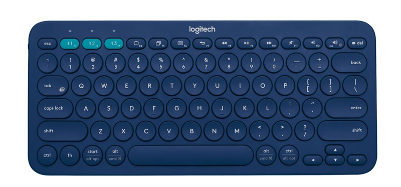 LOGITECH Keyboard Blueetooth K380 Blue