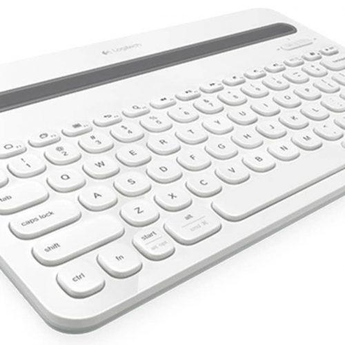 LOGITECH Keyboard Wireless K480 Bluetooth White