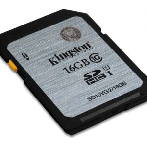 KINGSTON Memory Card Secure Digital SD10VG2/16GB, Class 10
