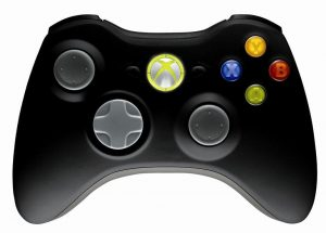MICROSOFT Controller Xbox360, Wireless, Black