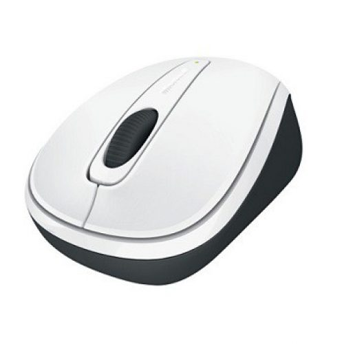 MICROSOFT Mouse Wireless Mobile 3500, White Gloss