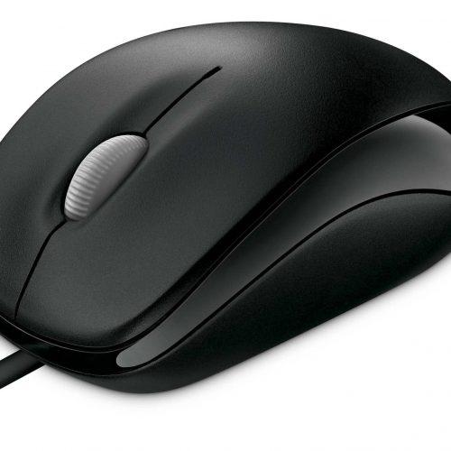 MICROSOFT Mouse Compact Optical 500, Black