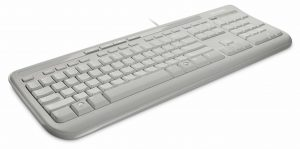 MICROSOFT Keyboard Wired 600, White