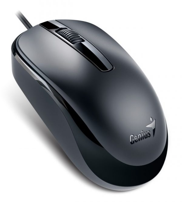 GENIUS MOUSE DX-120, WIRED, USB, OPTICAL, BLACK, 2YW. GENIUS MOUSE DX 120 WIRED USB OPTICAL BLACK 1