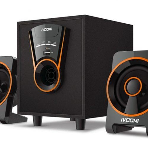 IVOOMi ηχεία iVO-1610 U 2.1ch, USB/AUX IN, 15W + 5Wx2, Τηλεχειριστήριο