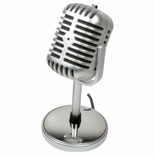 Retro Style Microphone Logilink HS0036