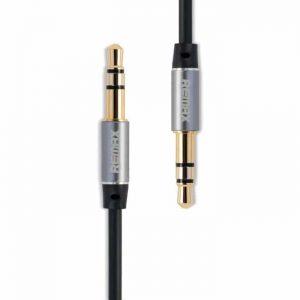 Cable Remax 3.5mm M/M 1m RM-L100 Black