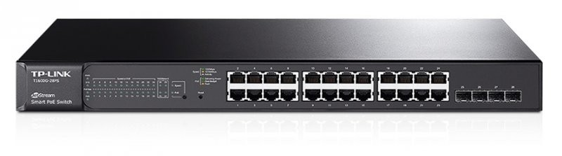 TP-LINK T1600G-28PS 24 PORTS POE SMART SWITCH