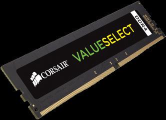 CORSAIR RAM DIMM 4GB CMV4GX4M1A2400C16 DDR4 2400MHz