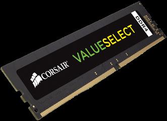 CORSAIR RAM 8GB CMV8GX4M1A2400C16 DDR4 2400MHz
