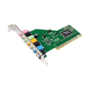 Soundcard Logilink pci 7.1 PC0043
