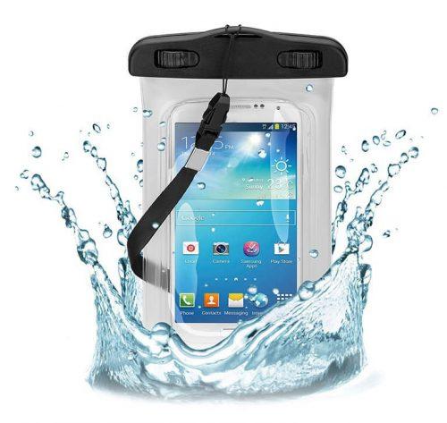 Αδιάβροχη θήκη κινητού έως 5.5, Transparent