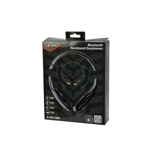 Ακουστικό Χ-Η813ΒΚ bluetooth λαιμού μαύρο Xzero