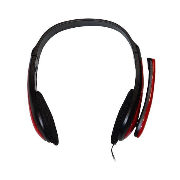 Ακουστικό-με-μικρόφωνο-κόκκινο-TP195-2