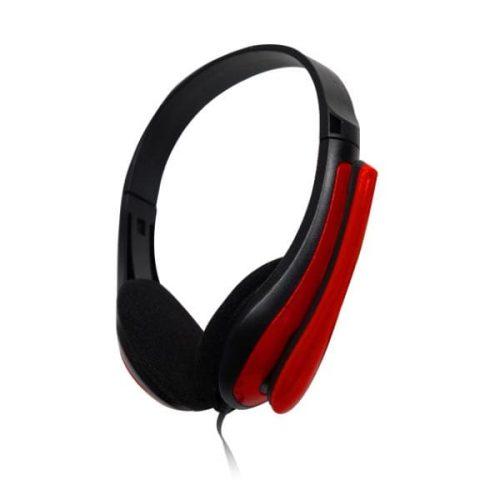Ακουστικό με μικρόφωνο κόκκινο TP195