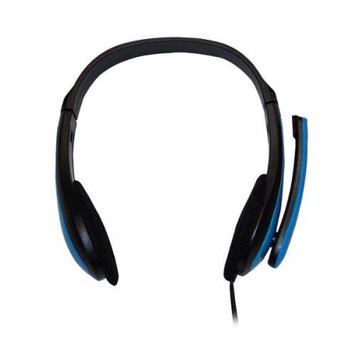Ακουστικό-με-μικρόφωνο-μπλε-TP195-2