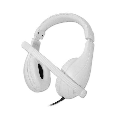 Ακουστικό με μικρόφωνο HVT AHP680L White