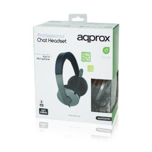 Ακουστικό-APPHS06PRO-Stereo-Pro-Approx-Black-1