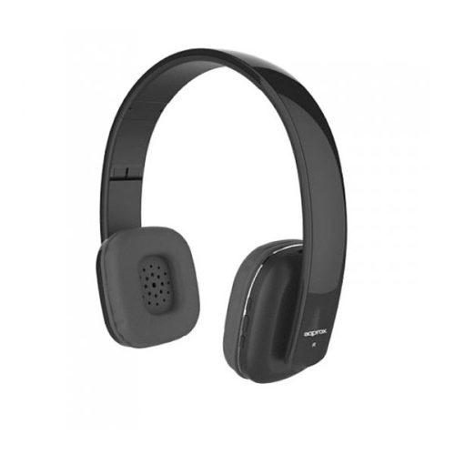 Ακουστικό APPHSBT01B Bluetooth με ενσωματωμένο μικρόφωνο Approx Black