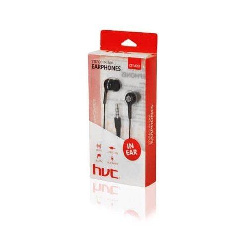 Ακουστικό CS-M201 Μαύρο με μικρόφωνο hvt