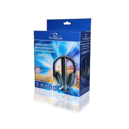 Ασύρματο Ακουστικό TH110 w/FM radio receiver