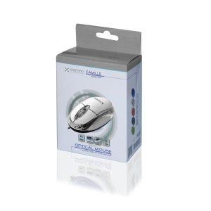 Ενσύρματο Ποντίκι 3D USB άσπρο XM102W
