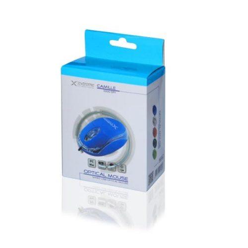 Ενσύρματο Ποντίκι 3D USB μπλε XM102B