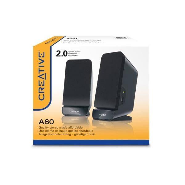 Ηχείο 2.0 Channel Creative A60 μαύρο