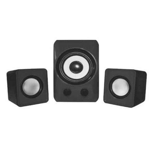 Ηχείο 2.1 Ch APPSP21M 1 woofer 2 speakers Black Approx