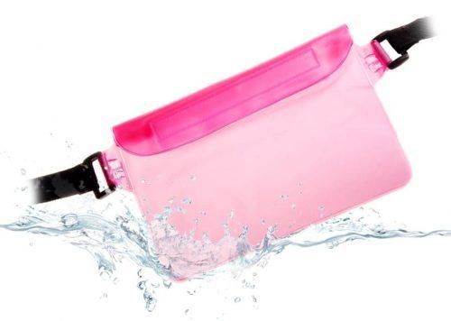 Θήκη αδιάβροχη Universal για Smartphone ή Tablet, Pink