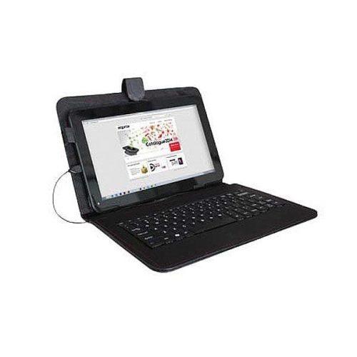 Θήκη για Tablet APPICK05 10.1 Approx με πληκτρολόγιο μαύρη
