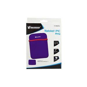 Θήκη για tablet CT-3862U μωβ από Neoprene έως 7 VAKOSS