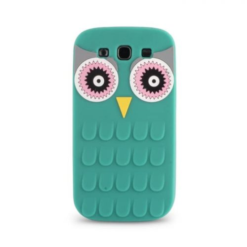 Θήκη Silicon 3D Owl για iPhone 6/6S