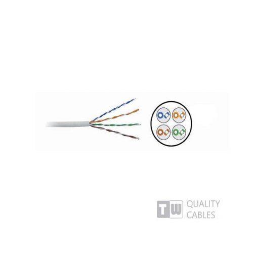 Καλώδιο Δικτύου UTP 305M T/W Cat-6 Μονοκλωνο Κουλουρα