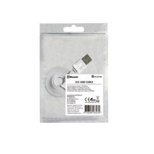 Καλώδιο USB σε Micro USB Msonic για smartphone άσπρο 1m