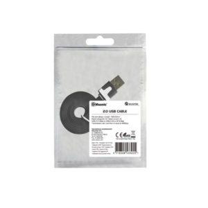 Καλώδιο USB σε Micro USB Msonic για smartphone μαύρο 1m