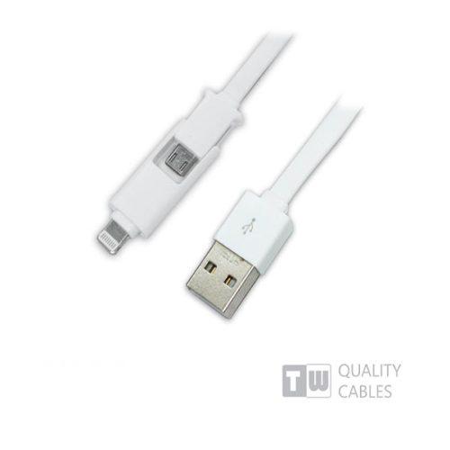Καλώδιο-USB-charging-data-για-iPhone5-micro-USB-1-ΣΕ-2-1m-άσπρο-1