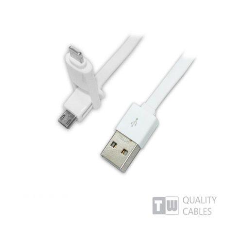 Καλώδιο-USB-charging-data-για-iPhone5-micro-USB-1-ΣΕ-2-1m-άσπρο-2