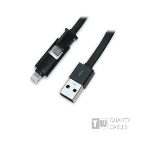 Καλώδιο-USB-charging-data-για-iPhone5-micro-USB-1-ΣΕ-2-1m-μαύρο-1