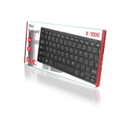 Πληκτρολόγιο-mini-K-1000-hvt-USB-Black-1