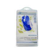Ποντίκι ΜΙΝΙ FO1600blue E-Boss Fashion Colored Οπτικό USB Μπλε