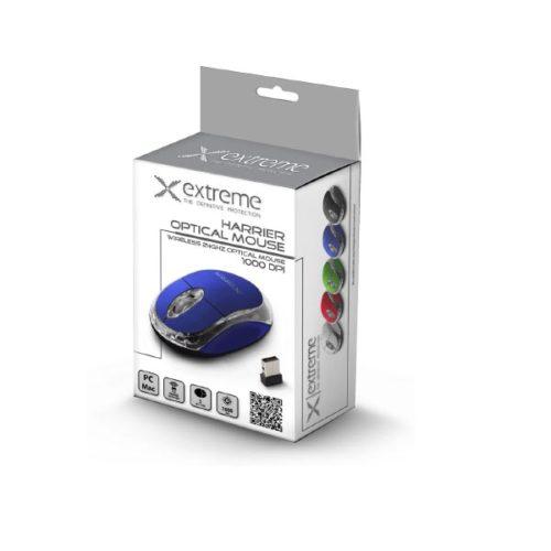 Ποντίκι 2.4Ghz ασύρματο οπτικό μπλε XM105B