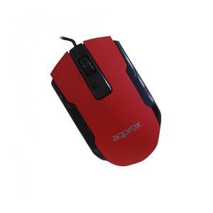 Ποντίκι Approx APPOMOFFICER κόκκινο